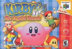 Kirby 64 - The Crystal Shards (USA) Box Scan